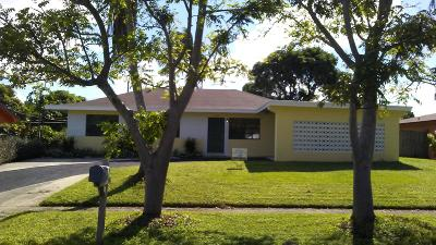 West Palm Beach Single Family Home For Sale: 1538 42nd Street
