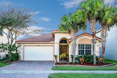 Port Saint Lucie Single Family Home For Sale: 2185 SW Newport Isles Boulevard