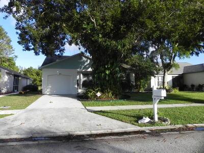 Lake Worth, Lakeworth Rental For Rent: 5109 Arbor Glen Circle