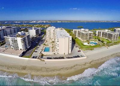 Condo For Sale: 3450 S Ocean Boulevard #201