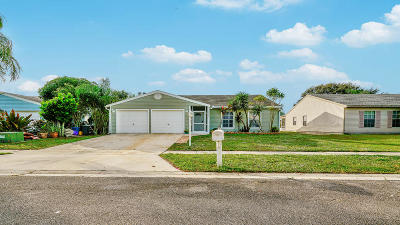 Lake Worth Single Family Home For Sale: 7790 Ashwood Lane