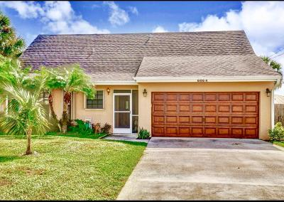 Jupiter Single Family Home For Sale: 6064 Barbara Street