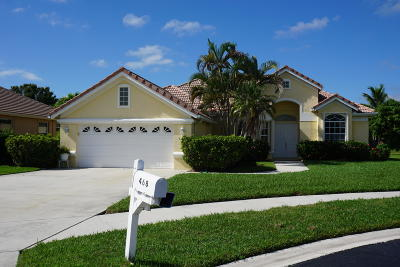 Port Saint Lucie Single Family Home For Sale: 468 SW Rosewood Cove