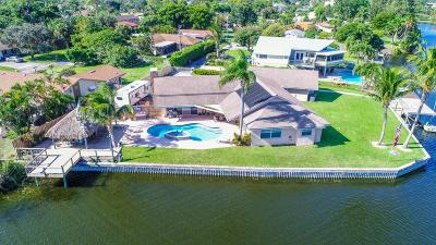 Lake Worth, Lakeworth Single Family Home For Sale: 2375 Gertrude Drive