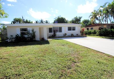 Palm Beach Gardens Single Family Home For Sale: 4314 Mary Circle