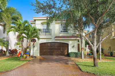 Boynton Beach Single Family Home For Sale: 8873 Morgan Landing Way
