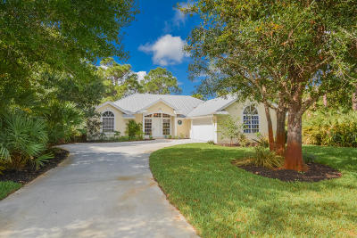 Palm City Single Family Home For Sale: 1909 SW Hunters Club Way