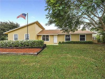 Tequesta Single Family Home For Sale: 19681 SE County Line Road