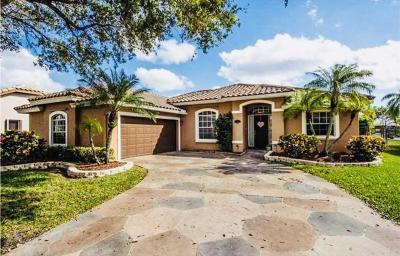 Coconut Creek Single Family Home For Sale: 5530 NW 38th Terrace
