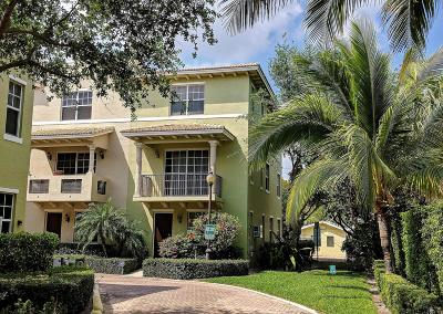 Lake Worth Townhouse For Sale: 219 L Street #112
