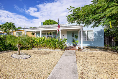 West Palm Beach Single Family Home For Sale: 831 Selkirk Street