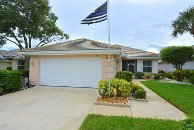 Port Saint Lucie Single Family Home For Sale: 1546 NW Amherst Drive