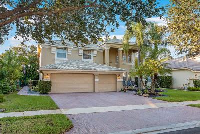 Lake Worth Single Family Home For Sale: 6395 Stonehurst Circle