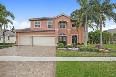 Boca Raton FL Single Family Home For Sale: $585,000