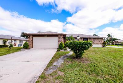 Port Saint Lucie Single Family Home For Sale: 1699 SE Mistletoe Street SE