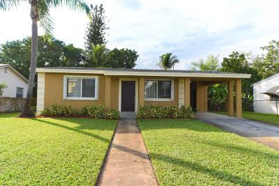 Lake Worth Single Family Home For Sale: 1117 S D Street
