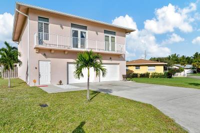 Boynton Beach Single Family Home For Sale: 1315 NW 8th Court #1