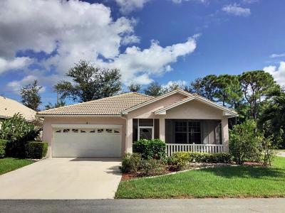 Port Saint Lucie Single Family Home For Sale: 121 NW Catania Circle