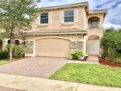 Port Saint Lucie Single Family Home For Sale: 1098 NW Leonardo Circle
