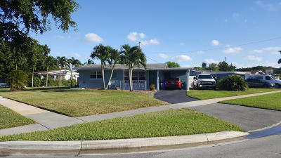 Margate Single Family Home For Sale: 6298 NW 15 Street