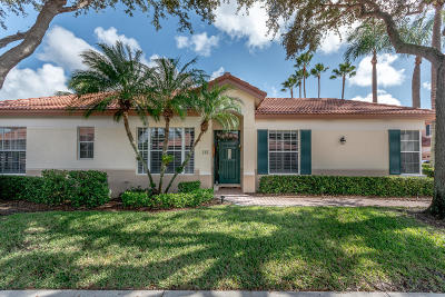 Palm Beach Gardens Townhouse For Sale: 161 Spyglass Way