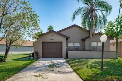 Boca Raton Single Family Home For Sale: 9020 Pine Springs Drive