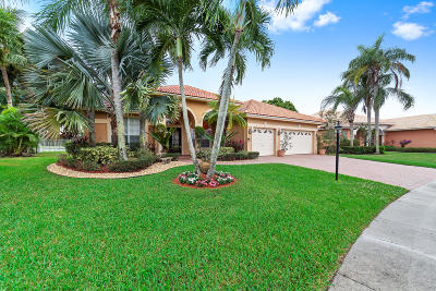 Boca Raton Single Family Home For Sale: 12271 Rockledge Circle