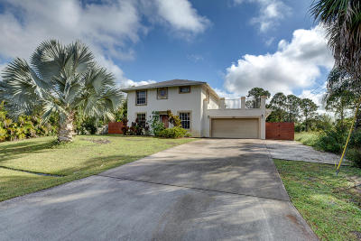 Port Saint Lucie Single Family Home For Sale: 1617 SW Davis Street