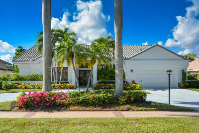 Boca Raton Single Family Home For Sale: 17256 Northway Circle