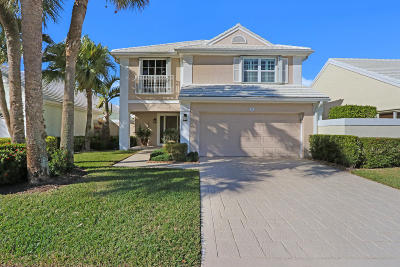 Palm Beach Gardens Single Family Home For Sale: 12 Wyndham Lane