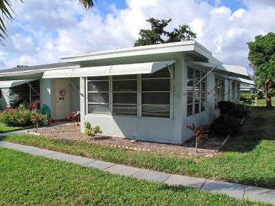 Delray Beach Single Family Home Contingent: 575 High Point Boulevard #D
