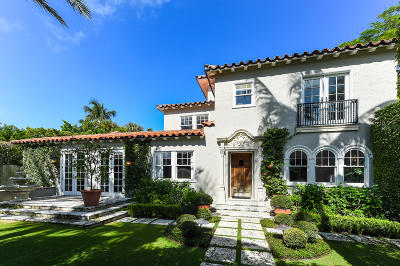 Palm Beach Single Family Home For Sale: 147 Seabreeze Avenue