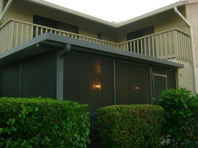 Hobe Sound Townhouse For Sale: 7491 SE Jamestown Terrace