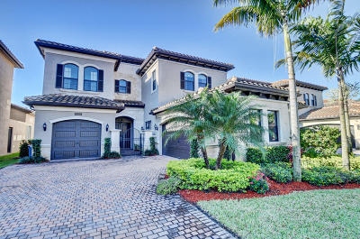 Delray Beach Single Family Home For Sale: 8208 Lost Creek Lane