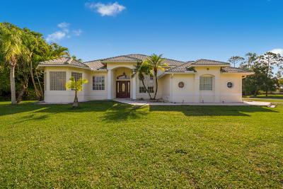 Jupiter Single Family Home For Sale: 17968 Winterhawk Trail