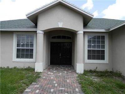 Port Saint Lucie Single Family Home For Sale: 1197 SW Eleuthera Avenue