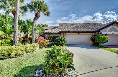 Boynton Beach FL Single Family Home For Sale: $154,900