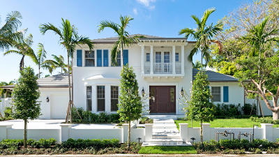 Palm Beach Single Family Home For Sale: 256 Fairview Road
