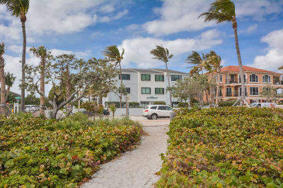 Delray Beach Condo For Sale: 250 S Ocean Boulevard #276