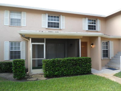 Palm Beach Gardens Townhouse For Sale: 12386 Alt A1a #N6