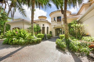 North Palm Beach Single Family Home For Sale: 832 Harbour Isles Place