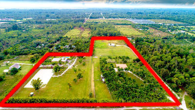 Palm Beach County Single Family Home For Sale: 2269/2379 B Road