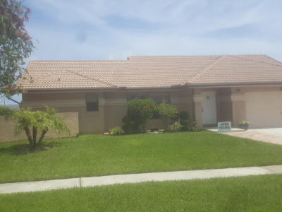 Boynton Beach FL Single Family Home For Sale: $380,000