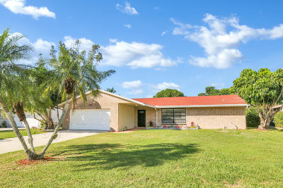 Royal Palm Beach Single Family Home For Sale: 143 Heron Parkway