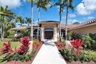 Palm Beach Gardens Single Family Home For Sale: 8230 Steeplechase Drive
