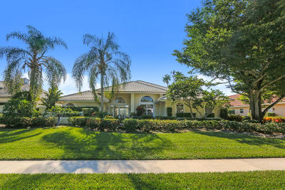 West Palm Beach Single Family Home For Sale: 10902 Egret Pointe Lane