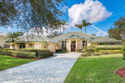 West Palm Beach Single Family Home For Sale: 8219 Lakeview Drive