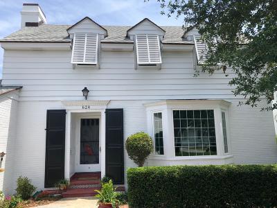 Lake Worth, Lakeworth Single Family Home For Sale: 624 Lakeside Drive