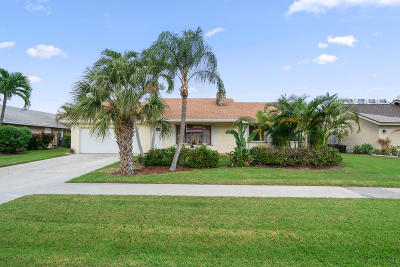 Boca Raton Single Family Home For Sale: 4915 Willow Drive