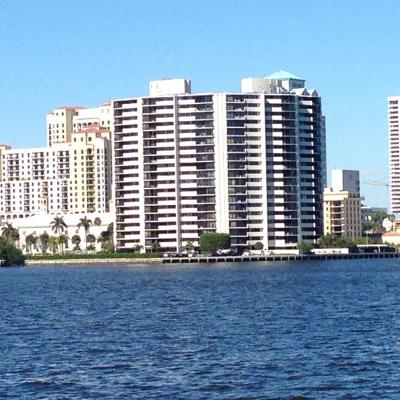 West Palm Beach Rental For Rent: 1200 S Flagler Drive #Ph4